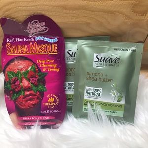 Face mask and hair conditioner